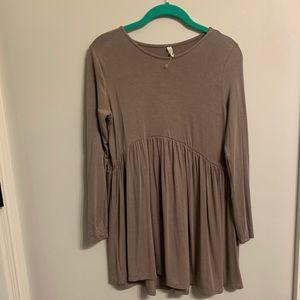 Brown Tunic | Very Soft | Never Worn